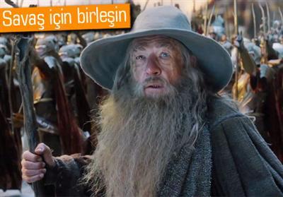Hobbit: Be� Ordunun Sava��'n�n �zel g�sterimindeydik