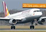 148 ki�iyi ta��yan Airbus A320s, Fransa Alpleri'ne d��t�