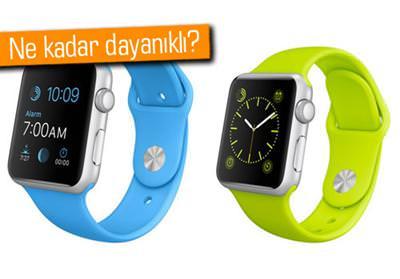 Apple Watch Spor modelinin ekran� �izilme testinde!