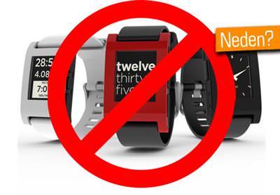 Apple, Pebble SmartWatch deste�i olan uygulamay� kabul etmedi