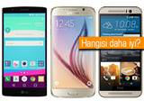 LG G4, Galaxy S6 ve One M9'un kar��s�nda