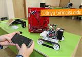 Karadenizli ��rencinin robotu evdeki ka�aklar� haber veriyor
