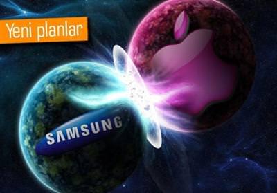 Apple ve Samsung tekrar kar�� kar��ya geldi