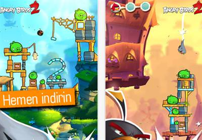 Angry Birds 2, iOS ve Android i�in yay�nland�