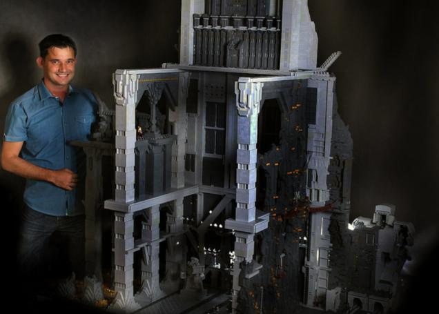 120,000 par�a LEGO'dan Hobbit'deki Erebor'u in�a etti