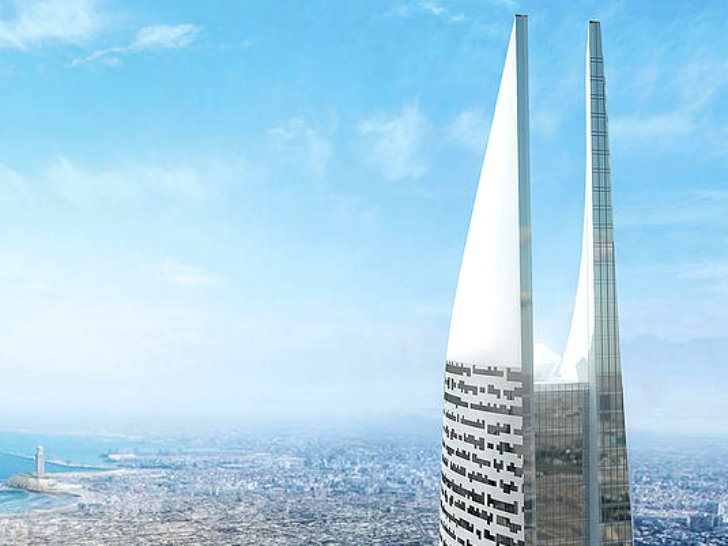 Afrika'ya Sauron'un g�z�n� yap�yorlar: Al Noor Tower