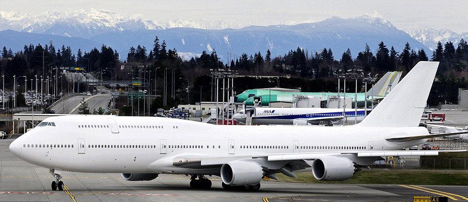 Boeing 747'yi u�an saraya d�n��t�rd�ler