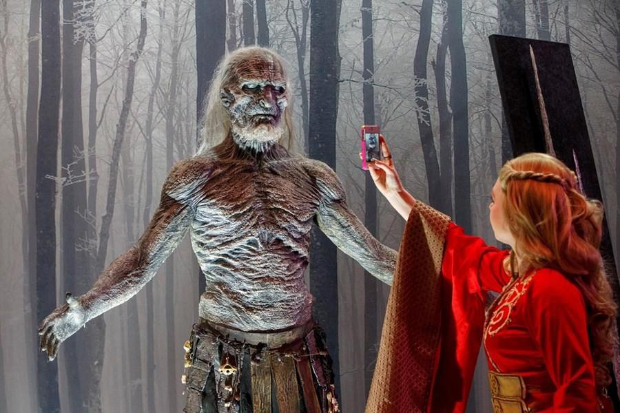 Londra'da Game of Thrones sergisi a��ld�