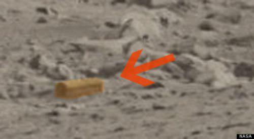 Mars'ta tabut iddias�!