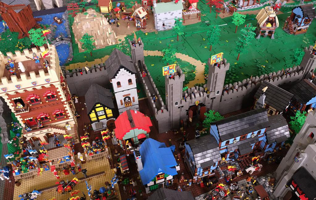 Westeros'u 600 bin LEGO par�as� ile yapt�lar