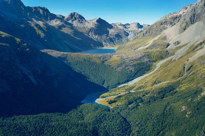 Yeni Zelanda'daki d�nyan�n en temiz g�l�yle tan���n