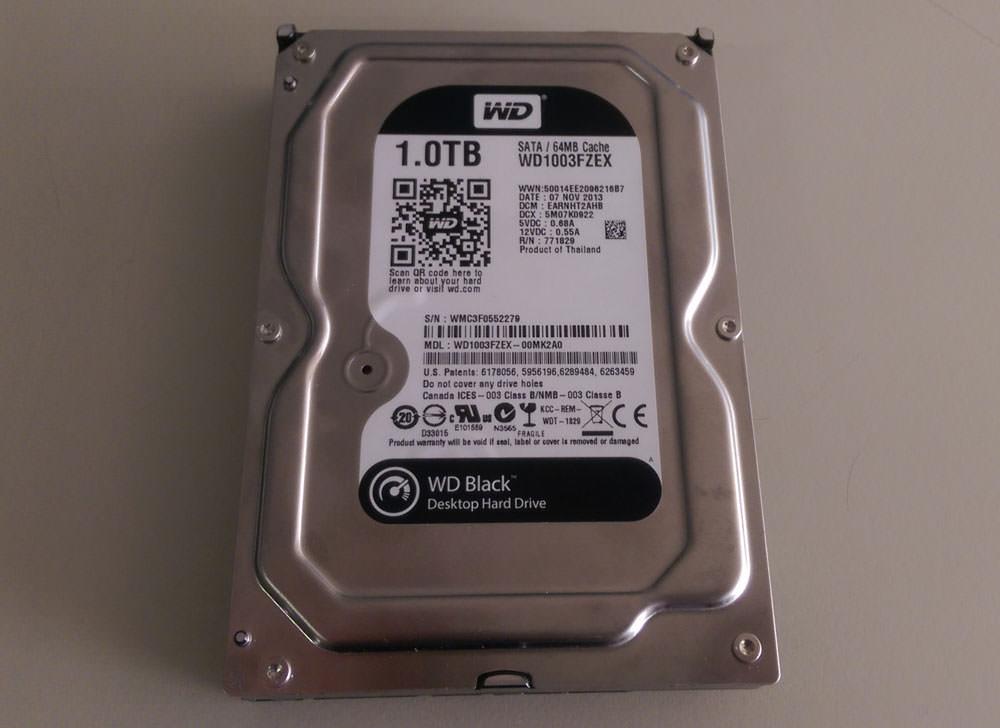 Western Digital 1 TB WD1003FZEX sabit disk