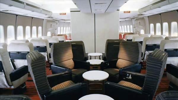 1970'lerde Boeing 747'de seyahat etmek