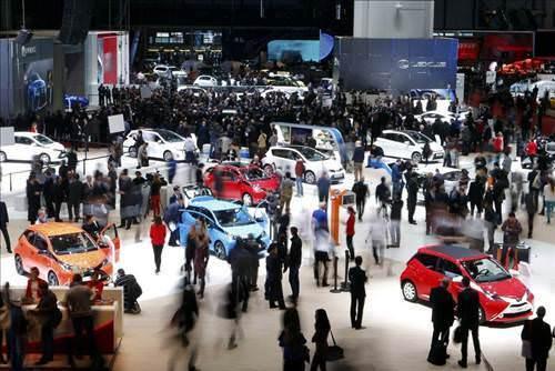 2014 Cenevre Otomobil Fuar� ba�lad�