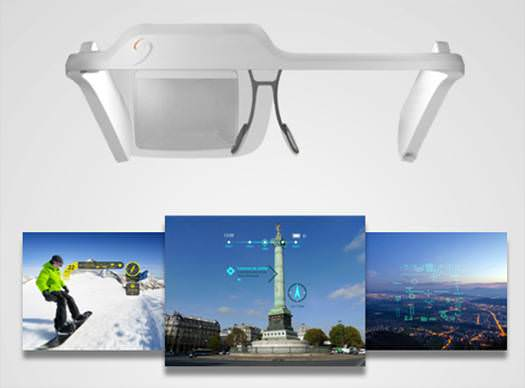 350 $'l�k Google Glass alternatifi: Laster SeeThru