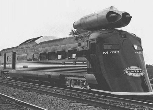 60'l� y�llarda �retilen jet motorlu trenin rekoru halen k�r�lamad�