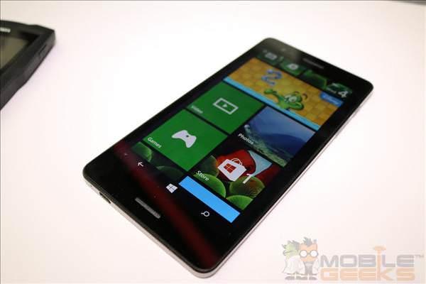 6.45 in� ekrana sahip WP 8.1'li telefon