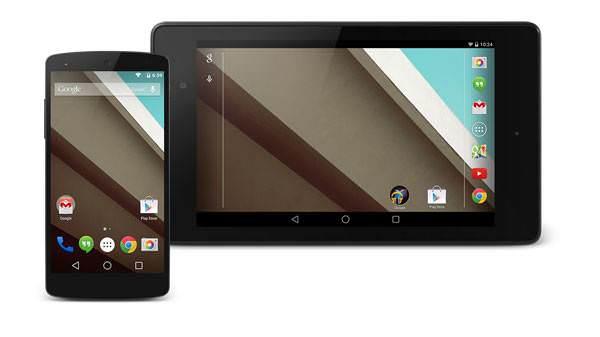 Android L'deki de�i�iklikler