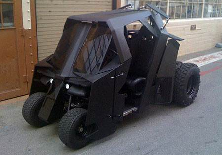 Batmobile de�il Golfmobile
