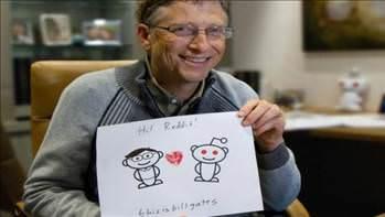 Bill Gates: Yerde 100 dolar g�rsem al�r�m