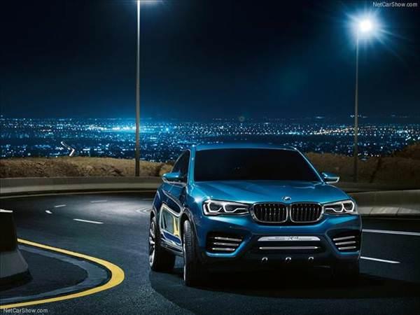 BMW X4 Concept g�r�nd�