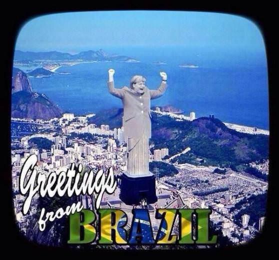 Brezilya'n�n ma�lubiyeti sosyal medyay� sallad�