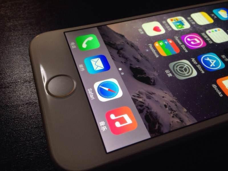 �al��an iPhone 6'n�n videosu ve foto�raflar�