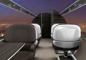 Cam kapl� bir uçakta uçmak nas�l olurdu?