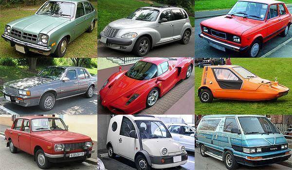 D�nyan�n en tuhaf otomobillerini g�rd�n�z m�?