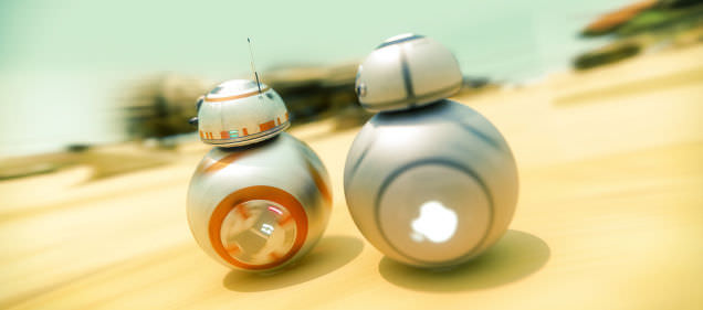 E�er Star Wars'un BB-8 robotunu Apple yapsayd�