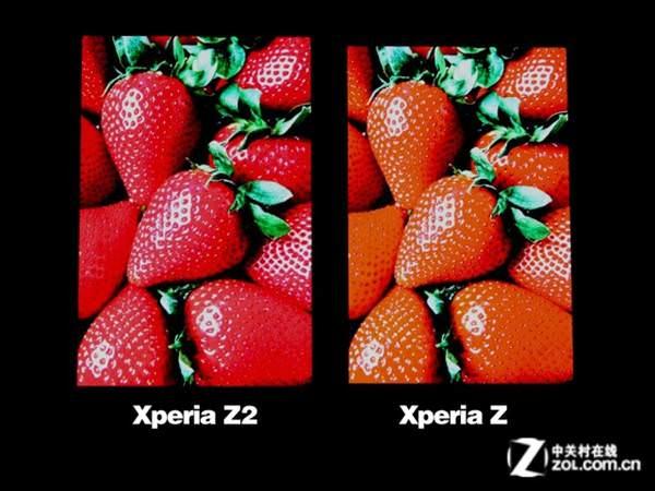 Ekran kar��la�t�rmas�: Xperia Z2 vs Xperia Z