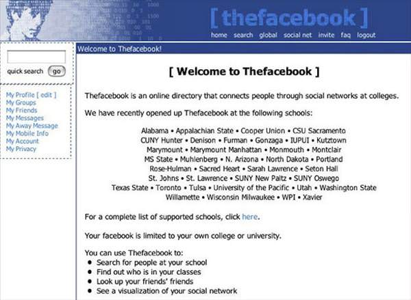 Facebook'un 10 y�ldaki inan�lmaz de�i�imi