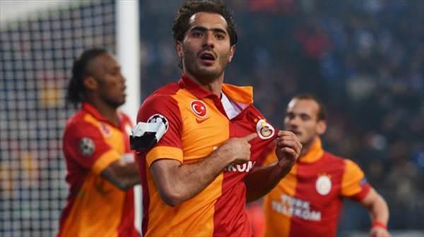 Galatasaray'�n Shalke 04 galibiyeti Twitter'� sallad�