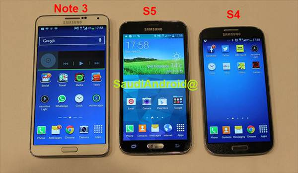 Galaxy S5'in foto�raflar� s�zd�r�ld�!