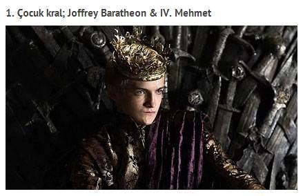Game Of Thrones'un Osmanl�'dan etkilendi�ini g�steren kan�tlar
