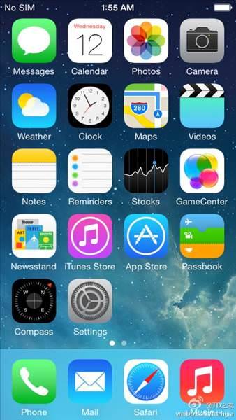 iOS 8'den ilk g�r�nt�ler geldi!