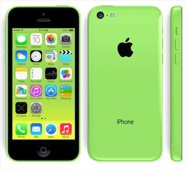 iPhone 5C'nin foto�raflar�