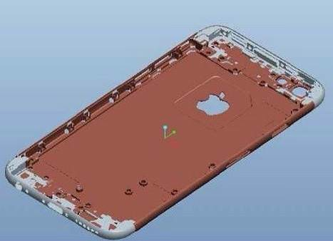iPhone 6'n�n 3D �ematik g�r�nt�leri s�zd�