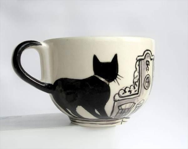 ��te en yarat�c� kahve ve kupa bardak tasar�mlar�