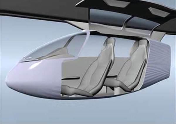 ��te gelece�in toplu ta��ma sistemi: SkyTran