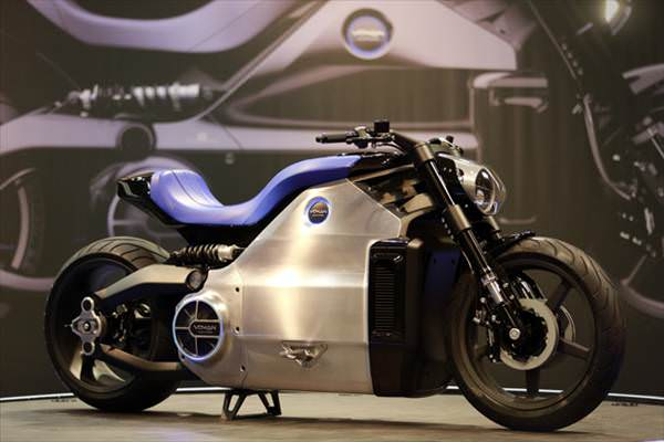 Kar��n�zda d�nyan�n en g��l� elektrikli motosikleti