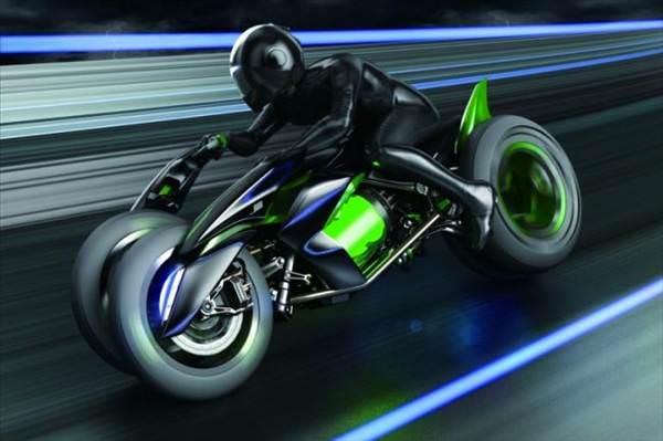 Kar��n�zda �ekil de�i�tiren motosiklet: Kawasaki J