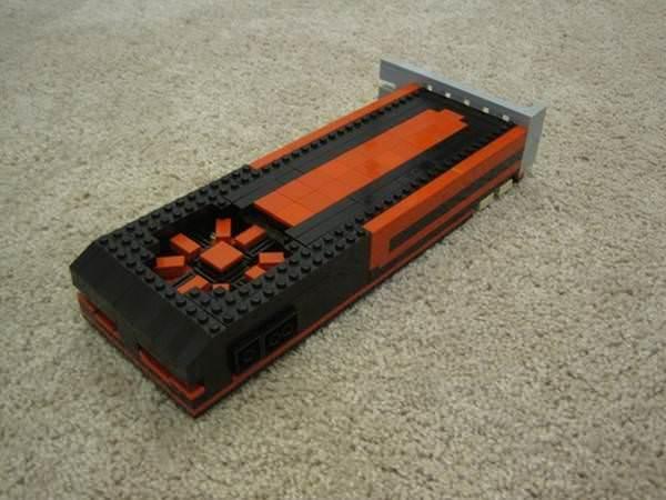 LEGO par�alar�ndan AMD Radeon HD 7970