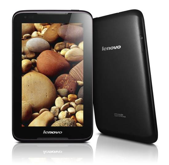 Lenovo'dan 3 yeni Android tablet: A1000, A3000 ve S6000