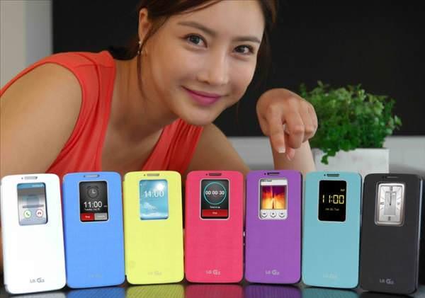 LG G2 i�in kullan��l� ve renkli k�l�flar