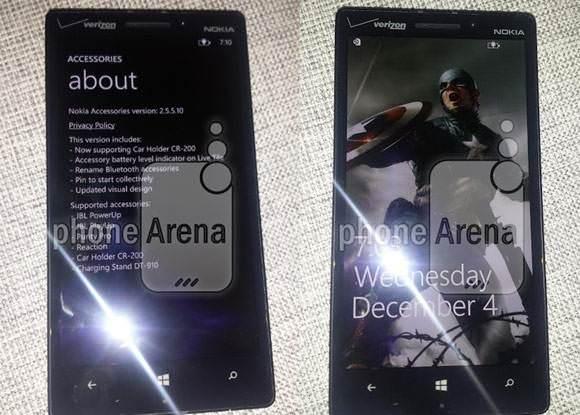 Lumia 929'un yeni foto�raflar� s�zd�