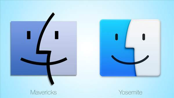 Mavericks vs. Yosemite uygulama ikonlar�