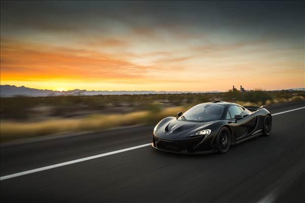 McLaren'�n gizli yeni spor otomobili