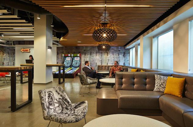Microsoft'un Washington'daki ofisinden kareler