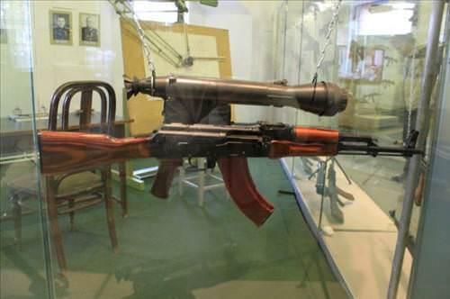 Mihail Kala�nikov'un �zel koleksiyonu